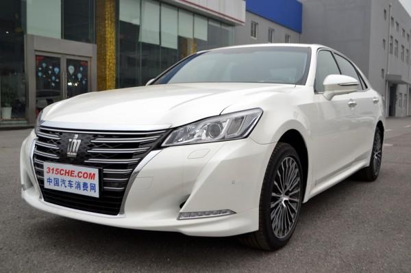 皇冠提供试乘试驾 购车最高优惠2万元