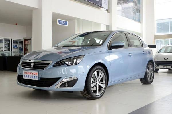 东风标致308S现金优惠1.4万 现车销售!