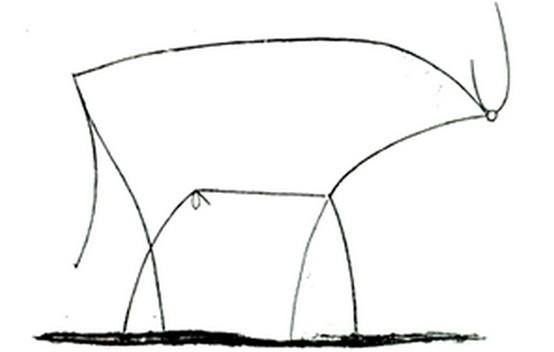 毕加索的牛与林肯的腰 一根经过千锤百炼的线