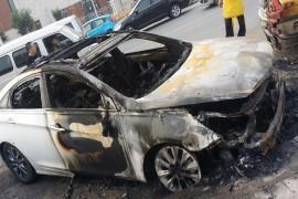 汽车自燃无人受理