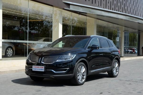 林肯MKX购车优惠3.3万元 提供试乘试驾