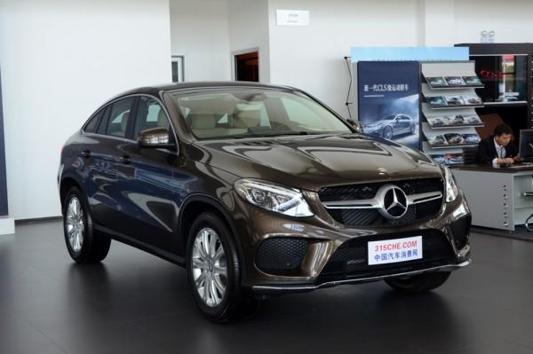 奔驰GLE促销优惠7.12万元 店内有现车