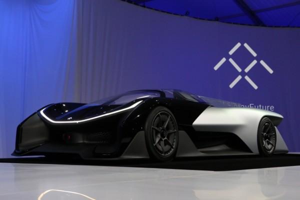乐视与Faraday Future合作 首款概念车亮相