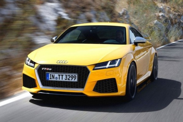 奥迪TT RS新消息 4月发布/推更高性能版
