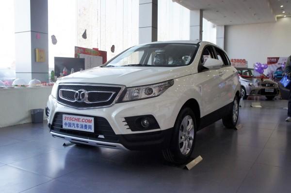 绅宝X55促销优惠高达1.5万元  现车销售