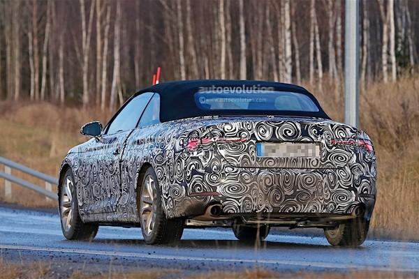 新一代奥迪A5敞篷版谍照推出年底预计【图】皮卡福特猛禽f650价格图片