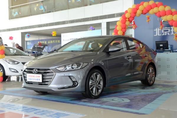 售12.48万 北京现代领动1.4T新车型上市