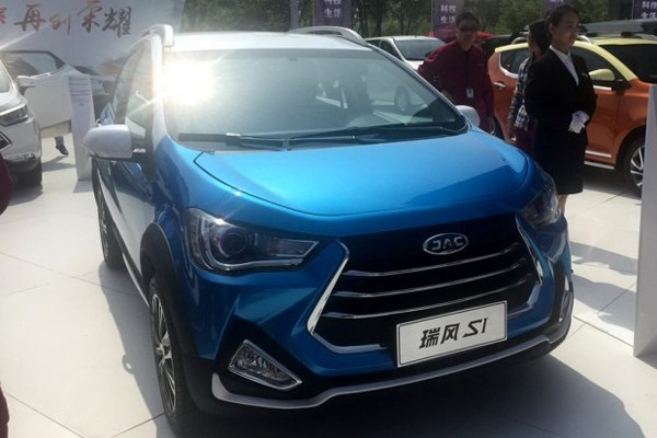 江淮瑞风S1正式发布 全新入门级小型SUV【图】_车猫网