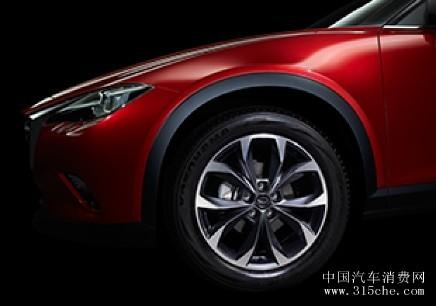 一汽马自达牵手湖南卫视 未来派轿跑SUV CX 4助力全员加速中高清图片