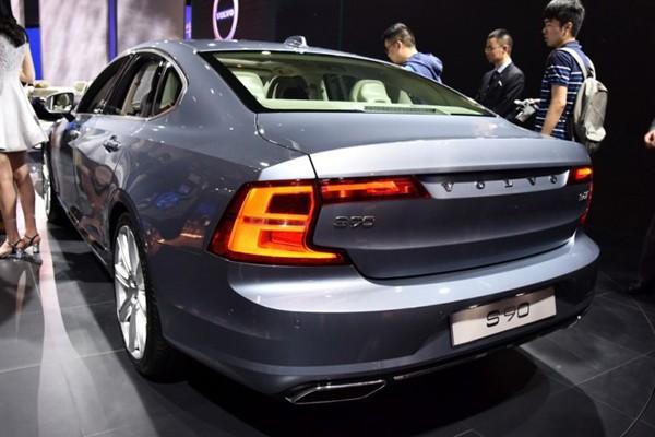 16北京车展 沃尔沃S90正式国内亮相高清图片
