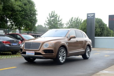"""豪华SUV""""王中王"""" 新款宾利添越售246.2万元"""