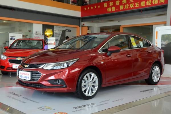 科鲁兹热销中 购车最高优惠3.5万元