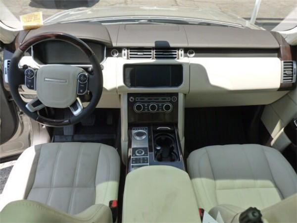 16款英国皇室专用路虎揽胜行政版高端SUV