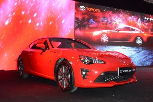 丰田新款86正式上市 售24.98-28.78万元