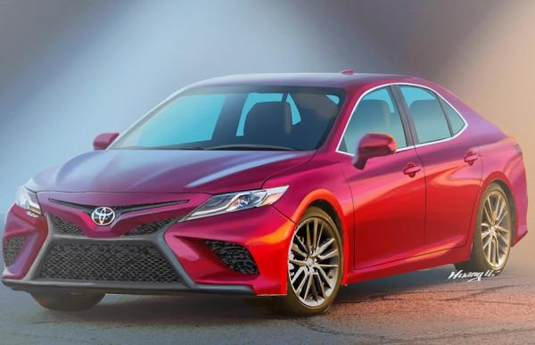 丰田新一代凯美瑞明年国产 造型偏个性