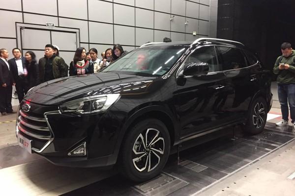 江淮瑞风S7实车正式亮相 2017年4月上市