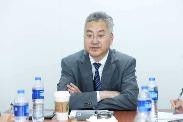 访一汽马自达汽车销售有限公司副总经理郭德强先生
