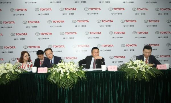 2017上海车展:访问一汽丰田销售公司总经理姜君、常务副总经理水谷雅史