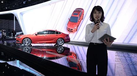 2017上海車展視頻直擊 別克全新君威