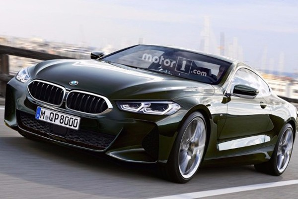 宝马全新8系量产版假想图 大型GT轿跑
