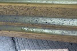 车围支架生锈