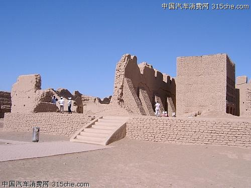 高昌城遗址 丝绸之路上的华美绝唱
