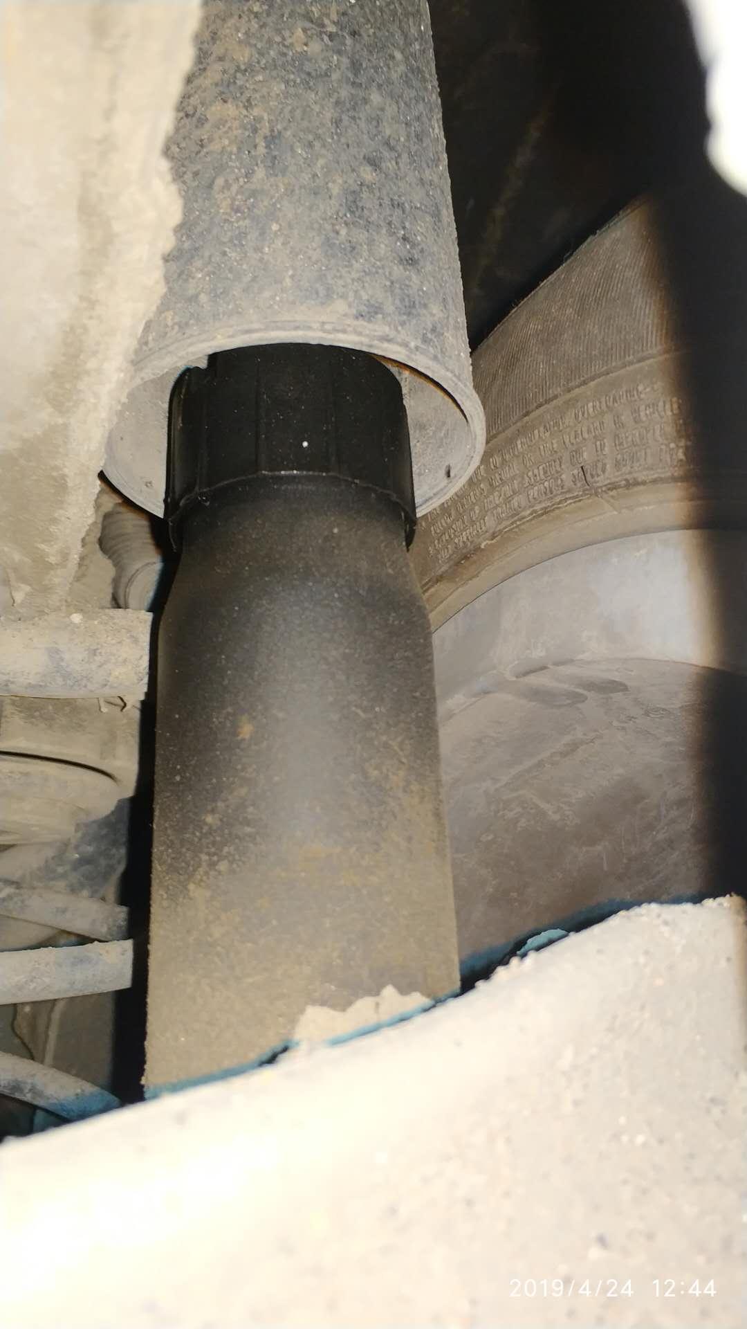 减震器漏油